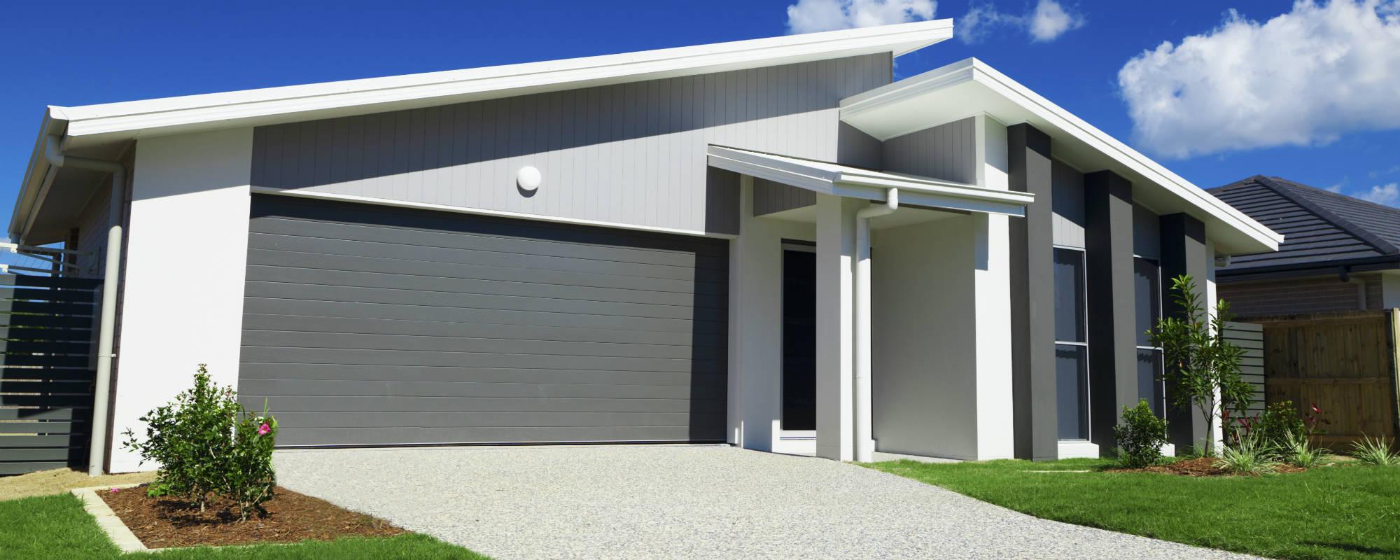 Moderne energivenligt hus
